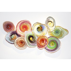 Cantoni Modern Furniture and Accessories Doug Frates Taffy Wall Platter-Made in America