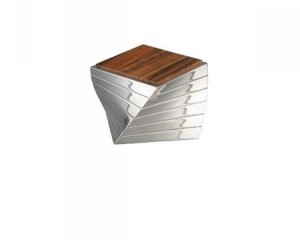 Nambe Twist Coaster Set-Cantoni Furniture