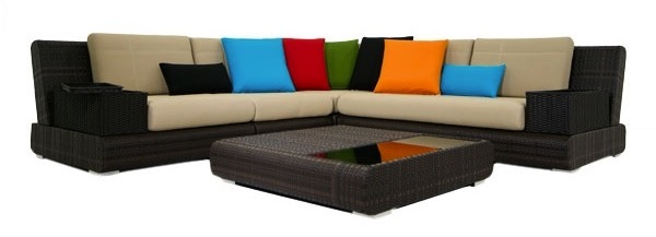 Cantoni Modern Outdoor Furniture Contour Sectional
