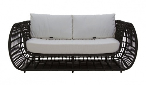 Nest Modern Outdoor Loveseat from Cantoni