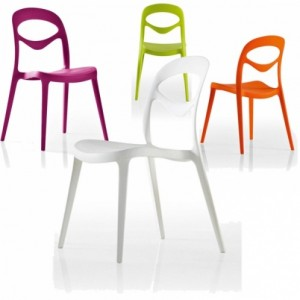 """""""For You"""" Stackable Side Chairs-Cantoni modern outdoor furniture-setting the stage for the 4th of July and all summer long"""