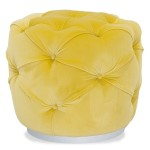 Malerba M Place Pouff/Ottoman-Cantoni Furniture-yellow inspired rooms
