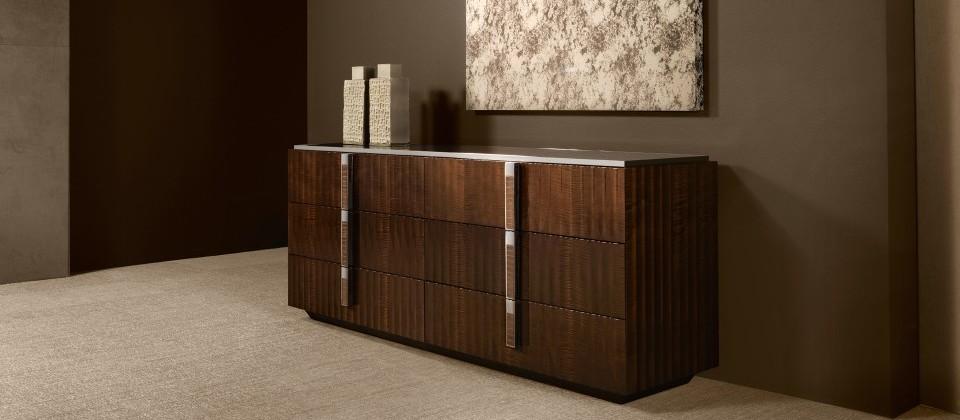 Red Carpet Collection-6 Drawer Dresser