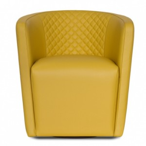 Malerba Red Carpet Armchair-Cantoni Furniture-Yellow inspired rooms