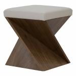 American Leather Maxwell Ottoman-Cantoni Furniture-Made in America
