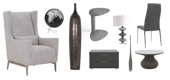 Gray inspired rooms-Cantoni furniture