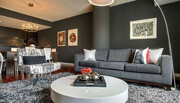 The W Hollywood, Unit 10F, Kyle Spivey-Gray inspired rooms-Cantoni Furniture
