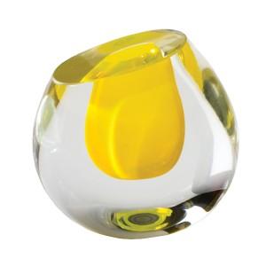 Color Drop Vase-Cantoni modern Furniture-yellow