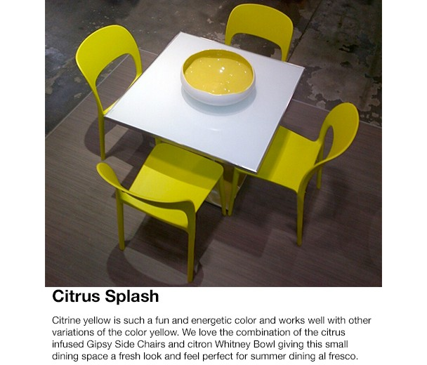 Cantoni Modern Furniture-Yellow inspired rooms