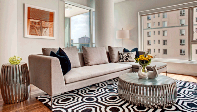 The W Hollywood, Unit 70-Kyle Spivey-Gray inspired rooms-Cantoni Furniture