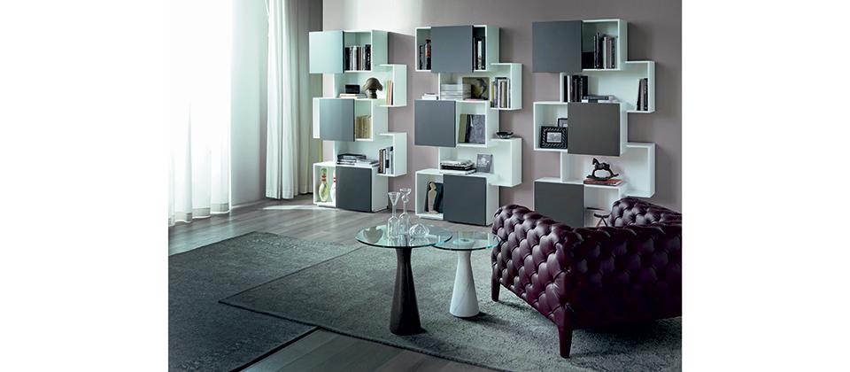 Piquant Bookshelf-Cantoni Modern Furniture
