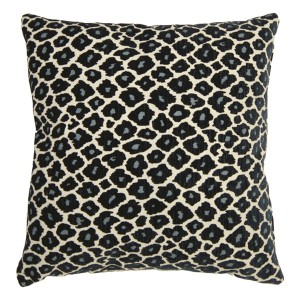 Blue Cheetah Accent Pillow-Cantoni Furniture