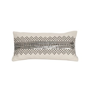 Rocker Metallic Accent Pillow-Cantoni modern furniture
