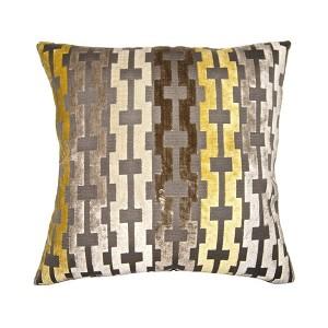 Soleil Grid Accent Pillow-Cantoni modern furniture
