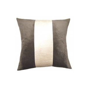 Stone Ivory Band Accent Pillow-Cantoni modern furniture