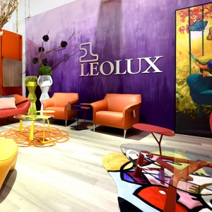 Leolux gallery at Cantoni in Dallas, Texas.