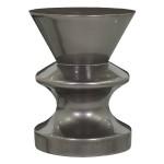 Pawn stool-metallic