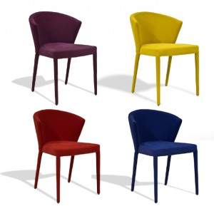 Amelie Side Chairs by Calligaris-Cantoni modern furniture