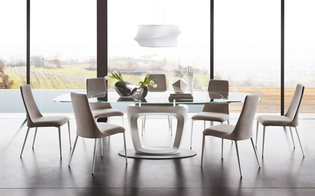 Orbital Dining Table by Calligaris-Cantoni modern furniture