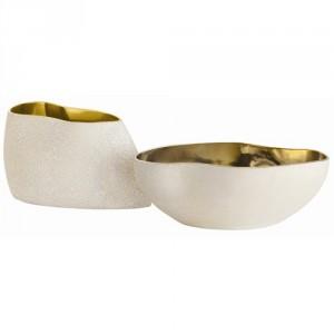 Vanessa Irregular Shaped Bowls-metallics