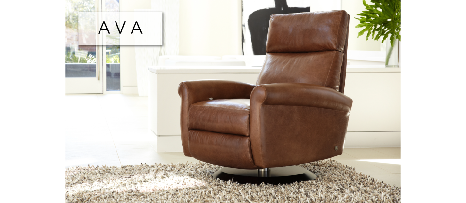 Ava Comfort Recliner by American Leather-Cantoni Furniture