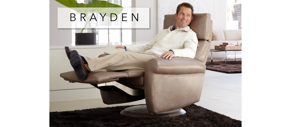 Brayden Comfort Recliner by American Leather-Cantoni Furniture