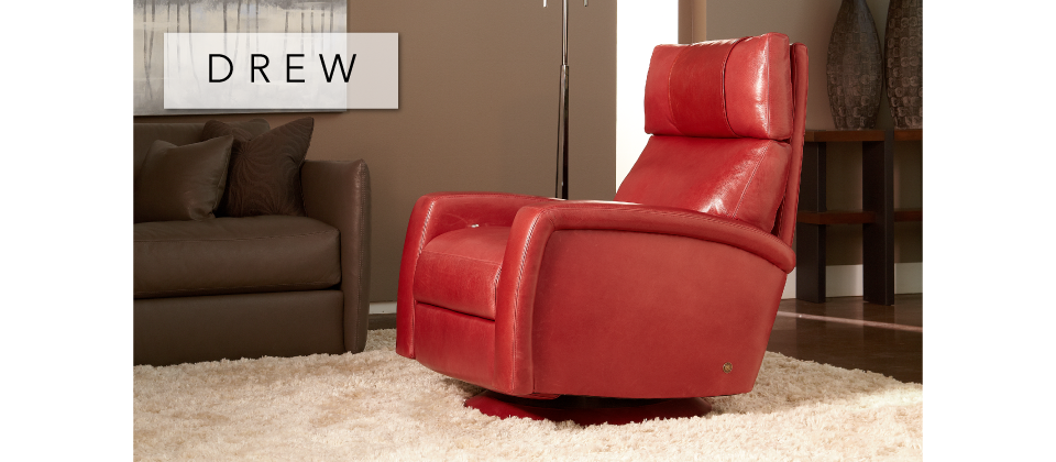 Drew Comfort Recliner by American Leather-Cantoni Furniture