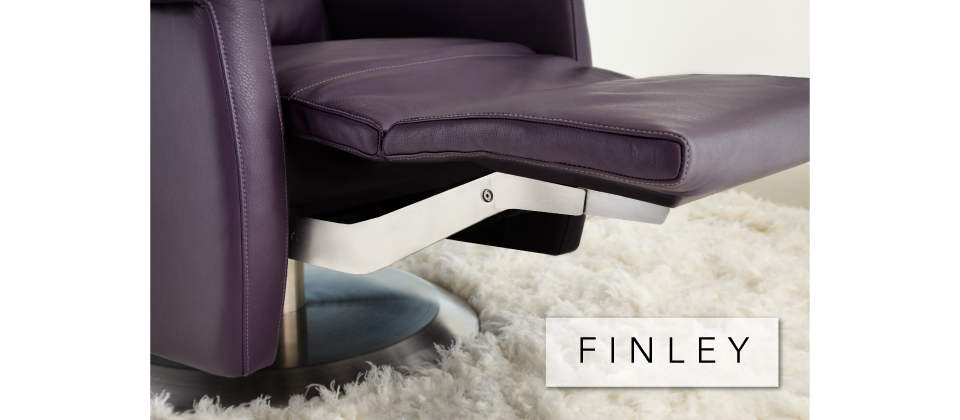Finley Comfort Recliner by American Leather-Cantoni Furniture