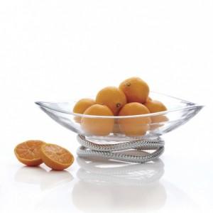 Braid Centerpiece Bowl-Thanksgiving Hostess Gifts