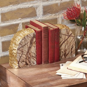 85967-Marble Bookends