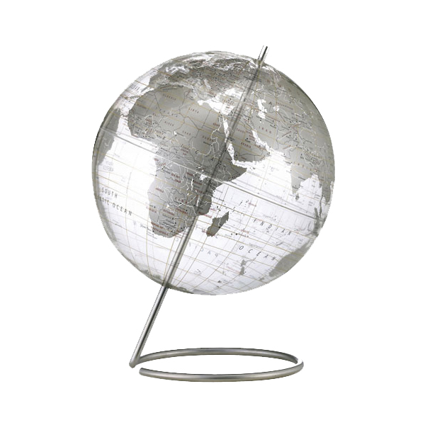 free shipping on gifts-Crystal Marquise Desk Globe