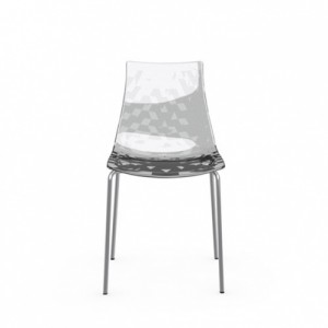 Ice Chair-glass furniture