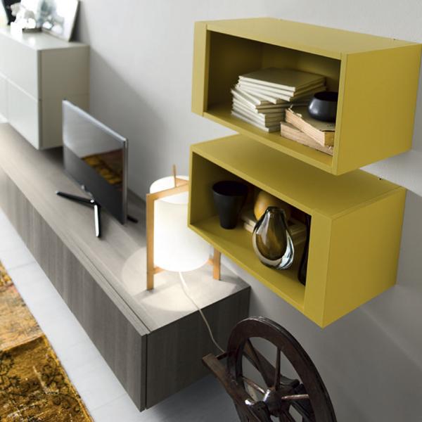 37702-B Green Box Wall shelf