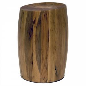 Barrel Wood Stool-Cantoni