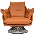 Gloss Swivel Chair - Cantoni