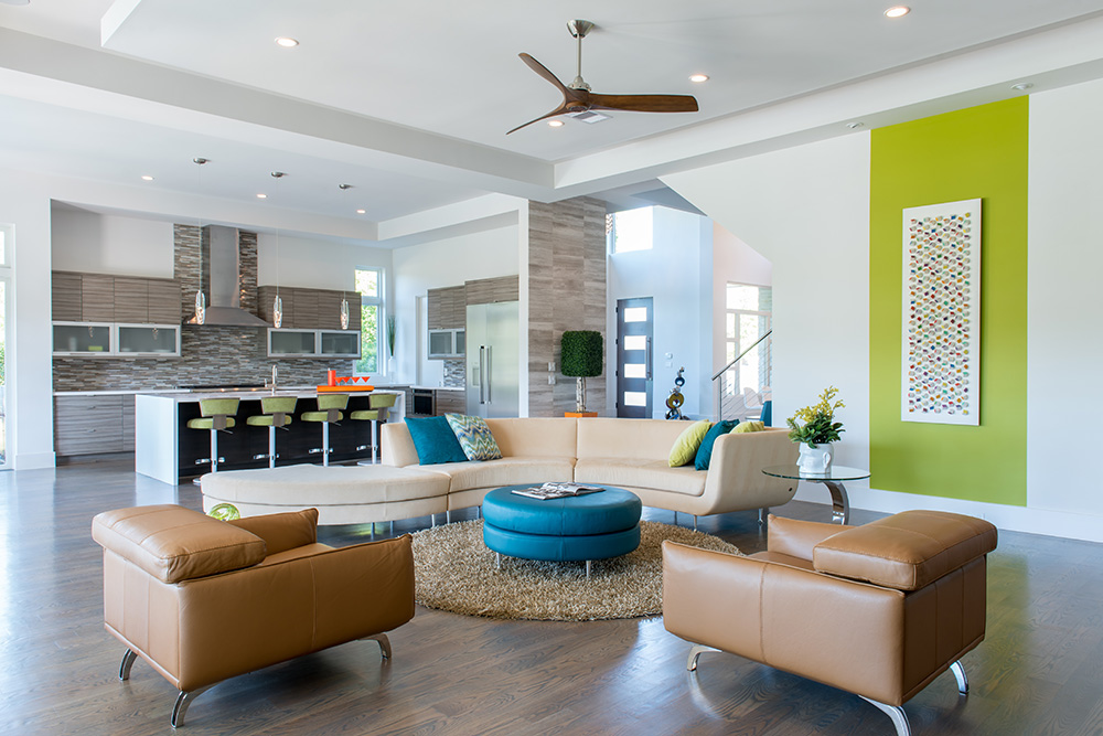 A Boldly Colorful Home: Designed by the Cantoni Houston Team