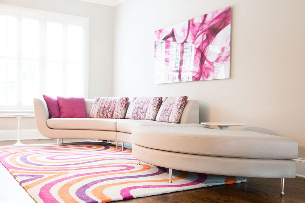 A Cheery Townhome: Designed by Pam Satterly, Cantoni Atlanta
