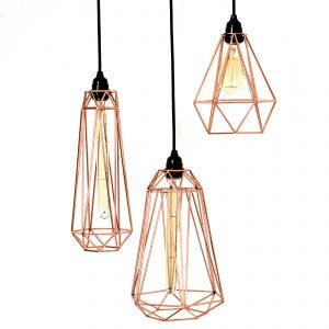 Diamond Cage Pendants-modern lighting