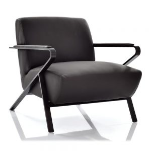 Oscar Chair by American Leather-Available at Cantoni