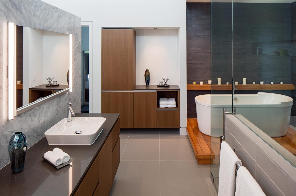 A Modern Smart House: Designed by George Saba for Cantoni Houston